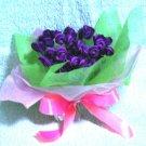 99 purple roses