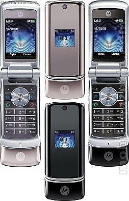 """Motorola KRZR K1 """"Black"""" Mobile Cellular Phone (Unlocked)"""