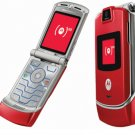 "Motorola V3 Razr ""Red"" Mobile Cellular Phone (Unlocked)"
