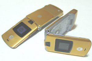 "Motorola V3 Razr ""Gold"" Mobile Cellular Phone (Unlocked)"