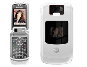"Motorola V3x Razr Limited Edition ""White"" Mobile Cellular Phone (Unlocked)"