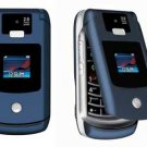 "Motorola Razr V3x ""Blue"" Mobile Cellular Phone (Unlocked)"