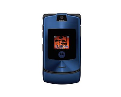 "Motorola Razr V3i ""Blue"" Mobile Cellular Phone (Unlocked)"
