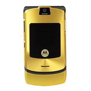 "Motorola RAZR V3i ""Gold"" Mobile Cellular Phone (Unlocked)"