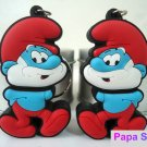 Free shipping-Promotion cartoon 4GB USB Flash Drive pen drive-Papa Smurf