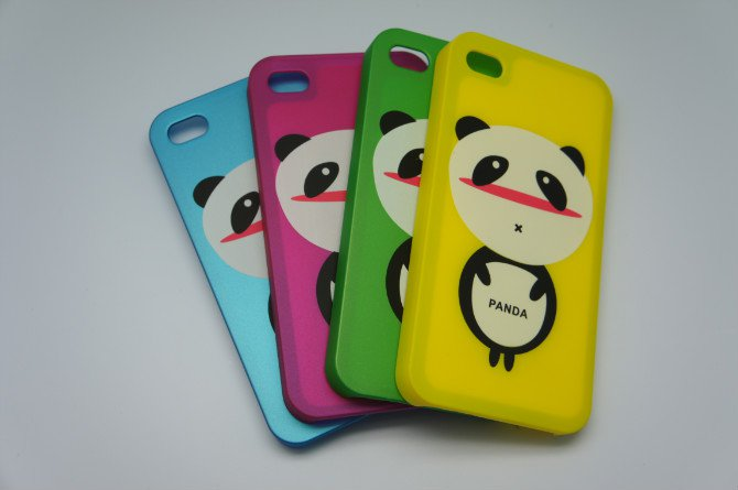 Case  For Iphone 4S / Iphone case-FreeShipping 10pcs/lot Wholesale  (Panda)