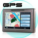 4.3 Inch Portable GPS Navigator with Touchscreen + Media Player
