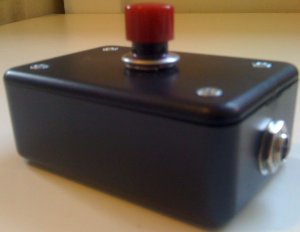 Audio Ecstasy Non-latching Tap Tempo Footswitch