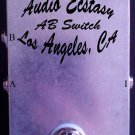 Audio Ecstasy A/B Switch Stompbox