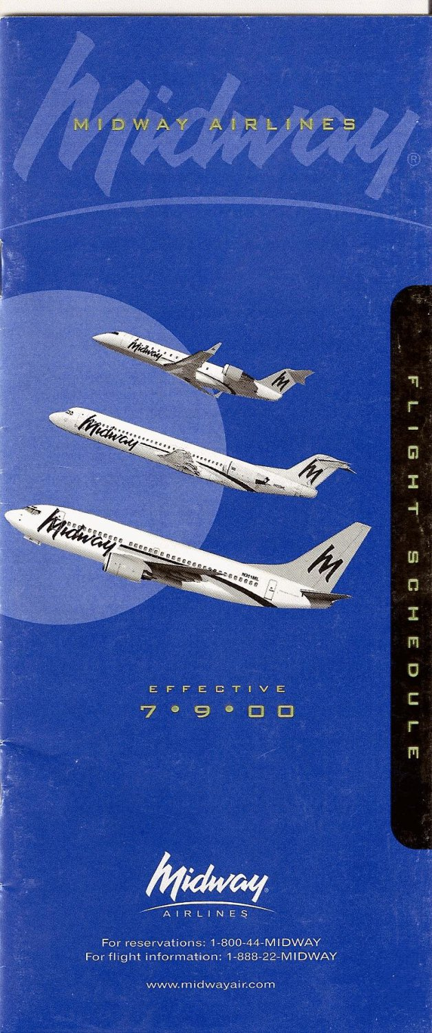 Midway Airlines - July 1, 2000