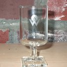 America West Airlines Wine Glass