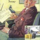 1935 GENERAL TIRE Vintage Print Ad
