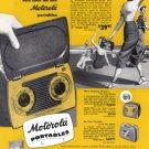 1949 MOTOROLA RADIO Vintage Print Ad