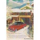1953 PLYMOUTH Auto Vintage Print Ad