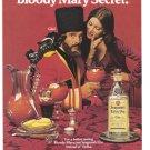 1975 SEAGRAM'S GIN Vintage Print Ad