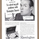 1948 BOB HOPE Remington Shaver Vintage Print Ad