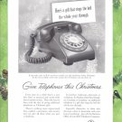 1957 BELL TELEPHONE Vintage Print Ad