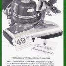 1936 HOOVER VACUUM Vintage Print Ad