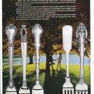 1975 GORHAM STERLING Silverware Vintage Print Ad