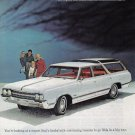 1965 OLDSMOBILE Vista Cruiser Auto Vintage Print Ad