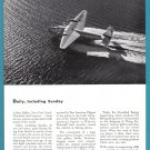 1942 BOEING Aircraft WWII Era Vintage Print Ad