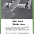 1965 GRUMMAN Aircraft Vintage Print Ad