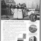 1963 British Railways Vintage Print Ad