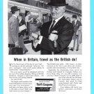 1960 British Railways Vintage Print Ad