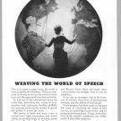 1933 AT&T Vintage Print Ad