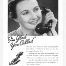 1938 BELL Telephone Vintage Print Ad