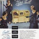 1948 ADMIRAL Radio TV Photograph Vintage Print Ad