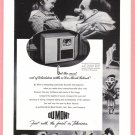 1947 DuMont TV Vintage Print Ad