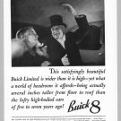 1936 BUICK Print Ad Vintage Car