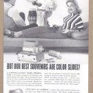 1958 GRAFLEX Camera Vintage Print Ad