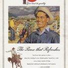 1953 COCA-COLA Vintage Print Ad