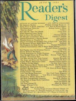 1955 READER'S DIGEST June Issue Magazine