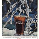 1964 COCA-COLA Vintage Print Advertisement