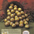 FERRERO Rocher 1999 Candy Print Advertisement
