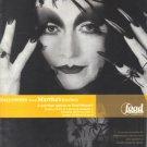 Martha Stewart 2001 Halloween Print Advertisement