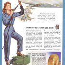 1943 General Tire WWII Era Vintage Print Advertisement