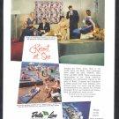 1959 DELTA Cruise Line Vintage Advertisement