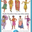 1961 PAN AM Airlines Vintage Print Advertisement