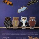 1996 Halloween Cookie Cutters Print Magazine Ad
