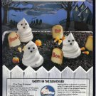 COOL WHIP 1995 Halloween Print Advertisement
