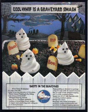 COOL WHIP 1995 Halloween Print Advertisement