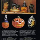 1999 HALLOWEEN Ornaments Printed Advertisement