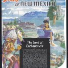 1949 New Mexico Travel Vintage Print Advertisement