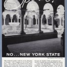 1960 NEW YORK Travel Vintage Print Advertisement