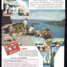 1957 New York Travel Vintage Print Advertisement