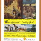 1953 New Mexico Travel Vintage Print Advertisement